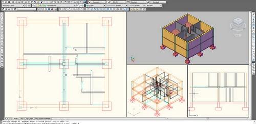 Izdelovanje prostorskih risb – autocad 3d